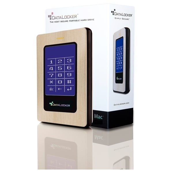 DataLocker DL3 for Mac 256 GB Encrypted External Solid State Drive