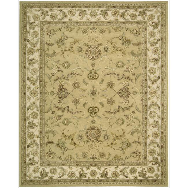 Nourison 3000 Hand-tufted Yellow Rug (12' x 15')
