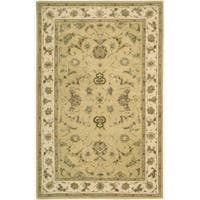 Nourison 3000 Hand-tufted Yellow Rug (5'6 x 8'6)