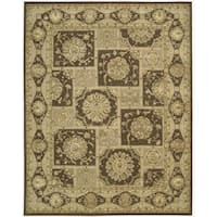 Nourison 3000 Hand-Tufted Brown Area Rug - 12' x 15'