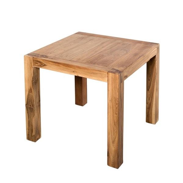 Simple Teak Side Table (India)