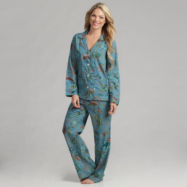 Serena Women's Ellen Blue Pajamas (India)