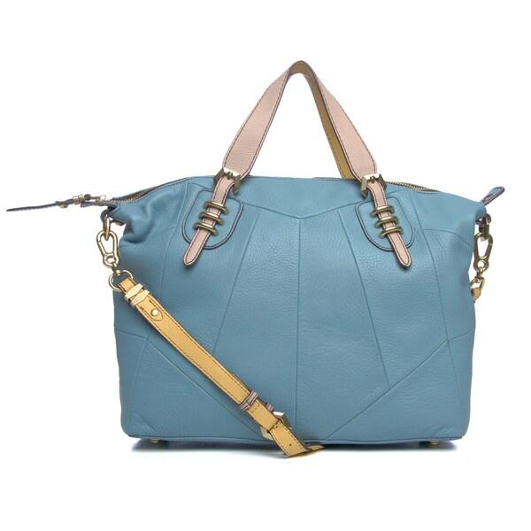 Oryany Maxine Oversized Leather Detachable Strap Tote Bag