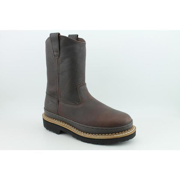 "Georgia Women's '10"" Giant' Leather Boots (Size 9)"
