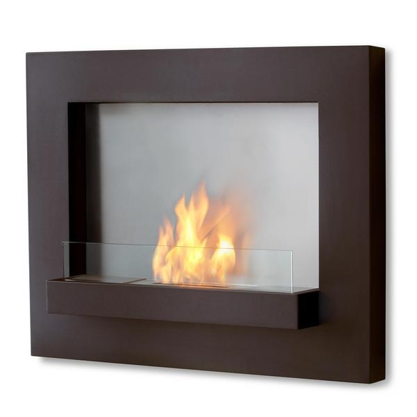 Real Flame Edgerton Wall Fireplace