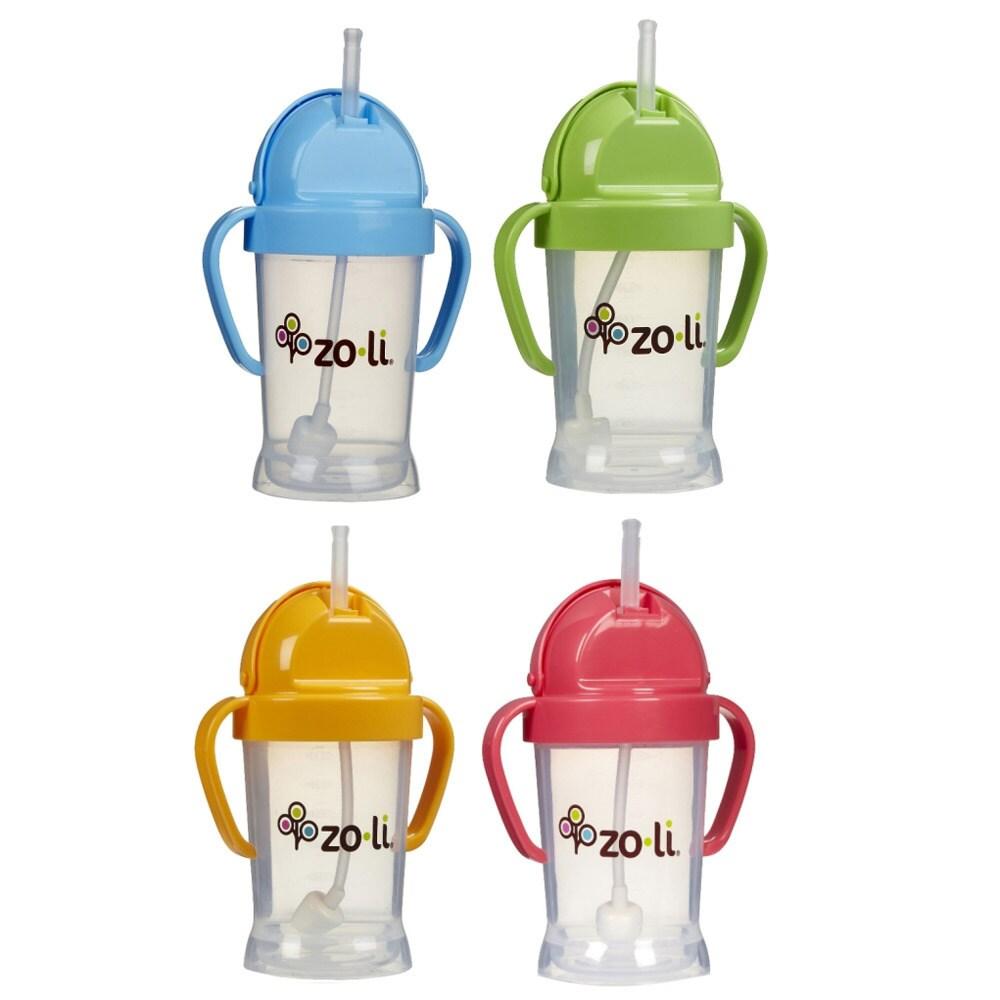ZoLi Baby Bot XL 9-oz Straw Sippy Cup (Green)