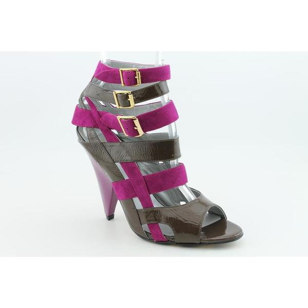 Georgina Goodman Women's 'Thea 2' Patent Leather Sandals (Size 7.5)