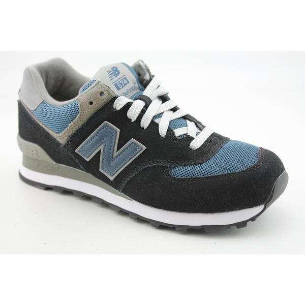 New Balance Men's 'M574' Regular Suede Casual Shoes Wide (Size 7.5)
