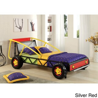 Furniture of America Sporty Car Twin Size Bed