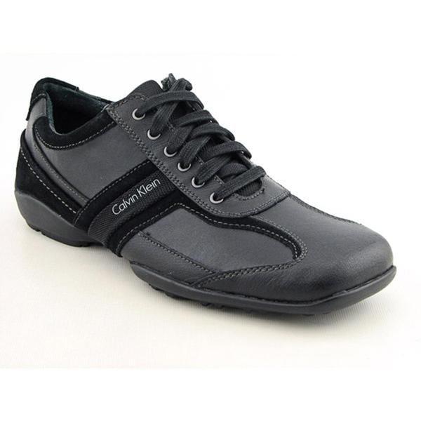 Calvin Klein Men's 'Ben' Leather Casual Shoes (Size 8)