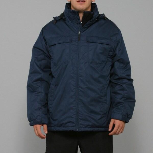 Zonal Men's Navy Snowboard Jacket
