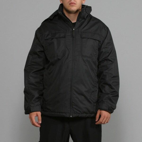 Zonal Men's Black Snowboard Jacket