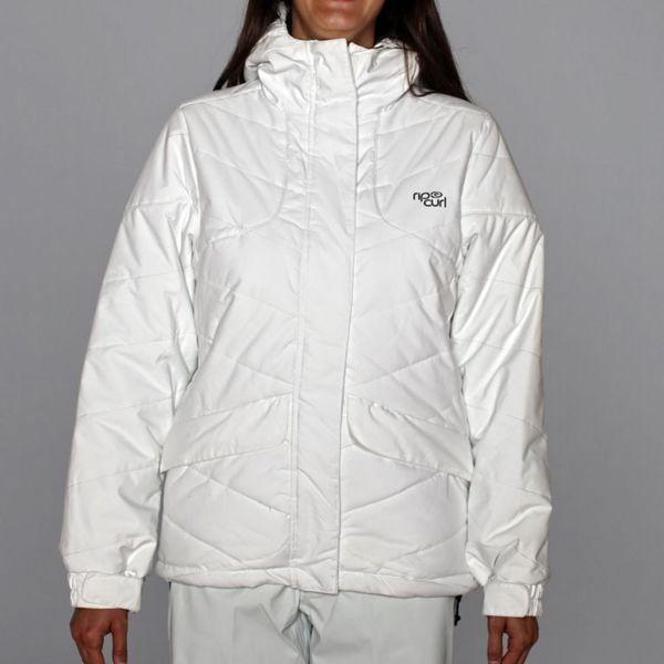 Rip Curl Women's 'Fizz' White Puffer Ski Jacket
