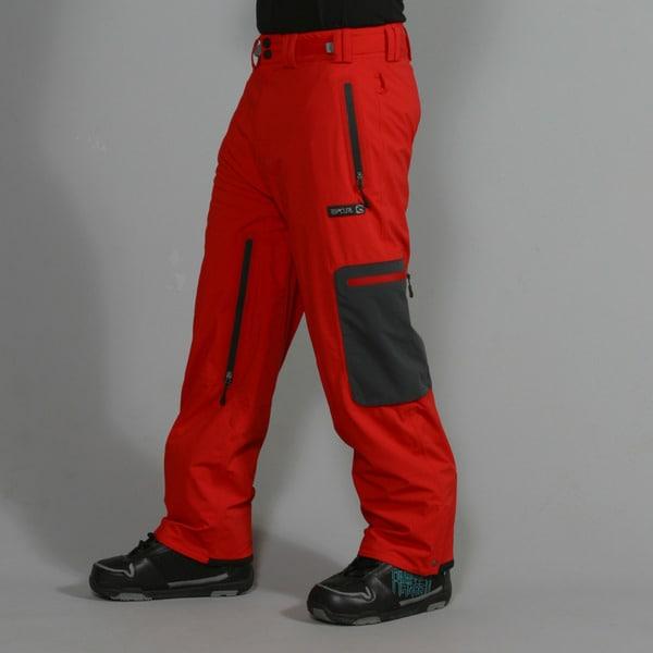 Rip Curl Men's 'Ultimate' Flame Scarlet Ski Pants