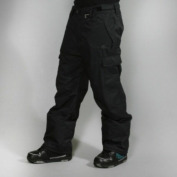 Rip Curl Men's 'Focker Plain' Moonless Black Ski Pants