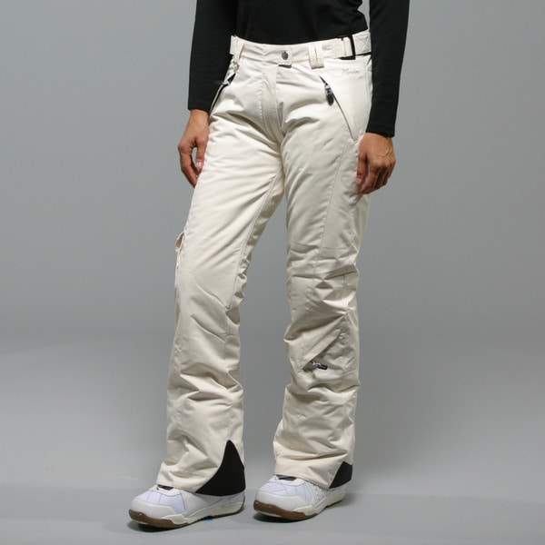 Marker Women's 'SL' Canvas Insulated Ski Pants