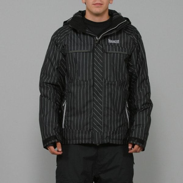 Marker Men's 'Empire Shell' Black Ski Jacket
