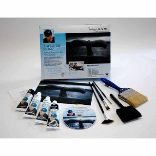 Weber Wyland Great White Whale Tail Painting Kit