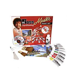 Weber Bob Ross Master Paint Set with 1 Hour DVD