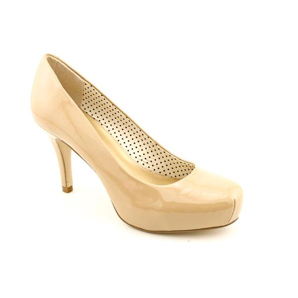 Madden Girl by Steve Madden Women's 'Getta' Nude Patent Dress Shoes
