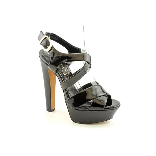Jessica Simpson Women's 'Poll' Patent Leather Sandals