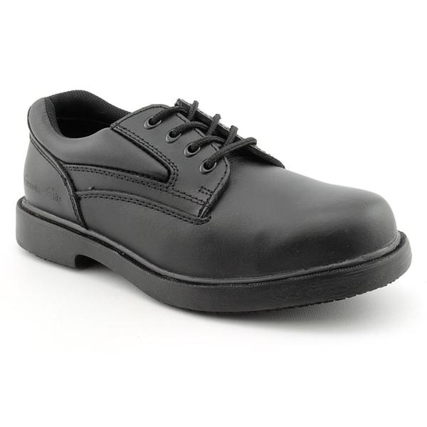 Genuine Grip Men's '7110 Steel Toe' Leather Occupational Wide