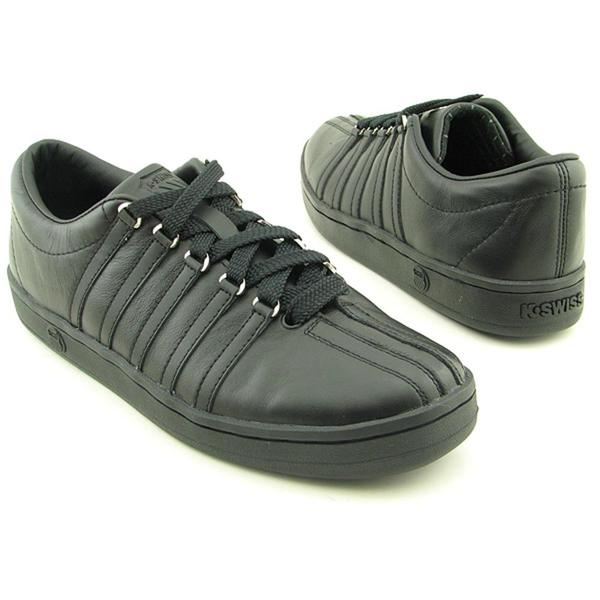 K Swiss Men's 'The Classic' Leather Casual Shoes Wide