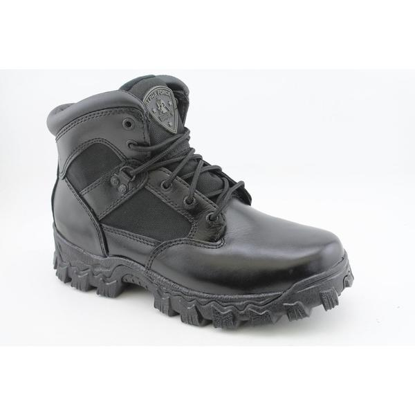 "Rocky Duty Men's '2167 6"" Alpha Force' Leather Boots Wide"