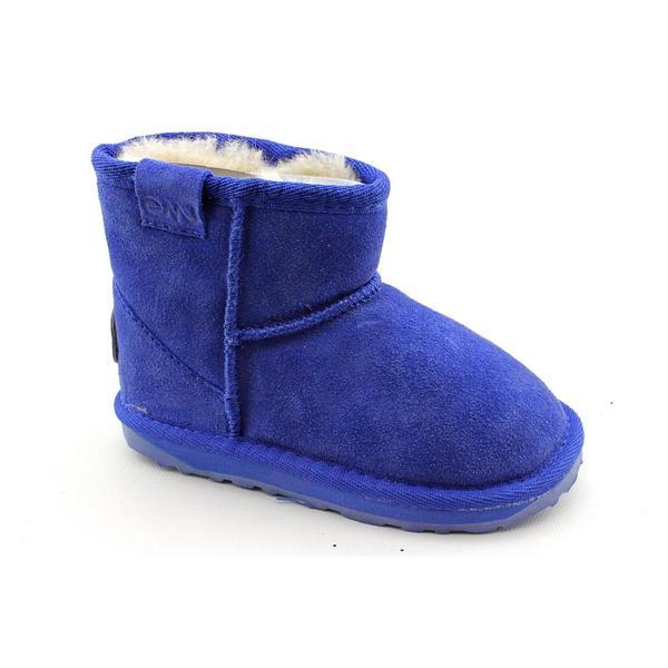 Emu Australia Girl's 'Wallaby Mini' Regular Suede Boots