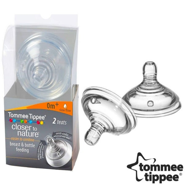 Tommee Tippee Closer to Nature Slow Flow Nipples (Set of 2)