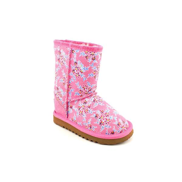 Ukala Girl's 'Fleur Low Kids' Regular Suede Boots