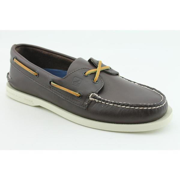 Sperry Top Sider Men's 'A/O 2 Eye' Leather Casual Shoes Wide