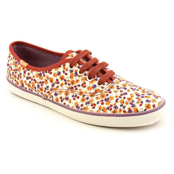 48fabfc2f8 Shop Keds Women's 'Champion Floral' Fabric Casual Shoes - Free Shipping  Today - Overstock - 7258121