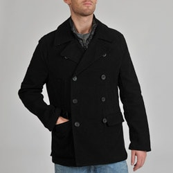 EXcelled Men's Double Breasted 3-in-1 Systems Coat