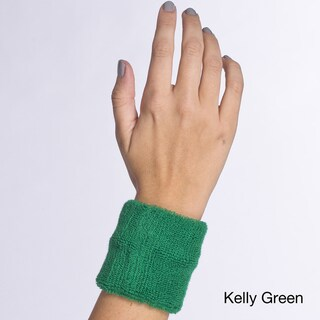 American Apparel Unisex Flex Terry Kelly Green Wristband