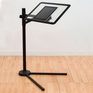 Calico Designs Black/ Clear Glass Tech Stand