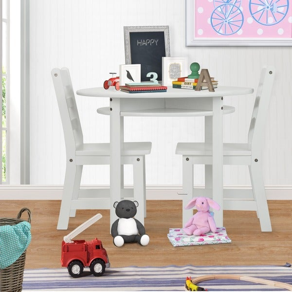 Shop Childrens Round Table And Chair Set Overstock 7258361