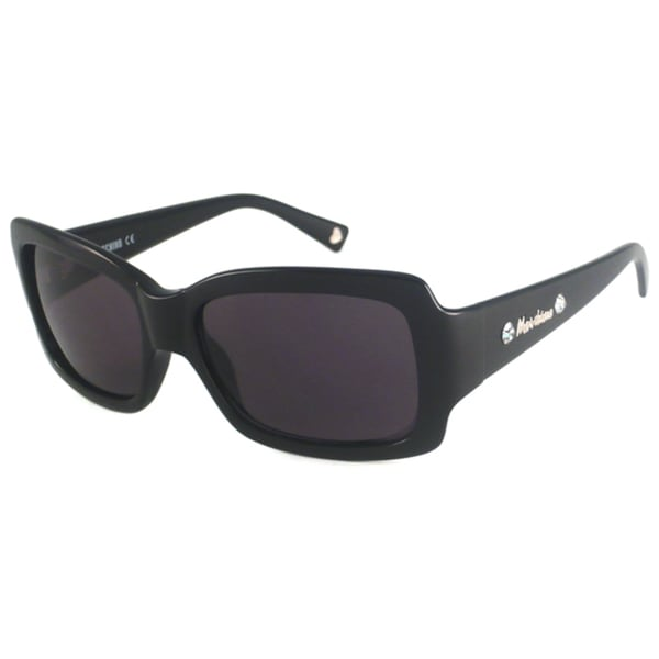 Moschino Women's MO523 Rectangular Plastic Sunglasses