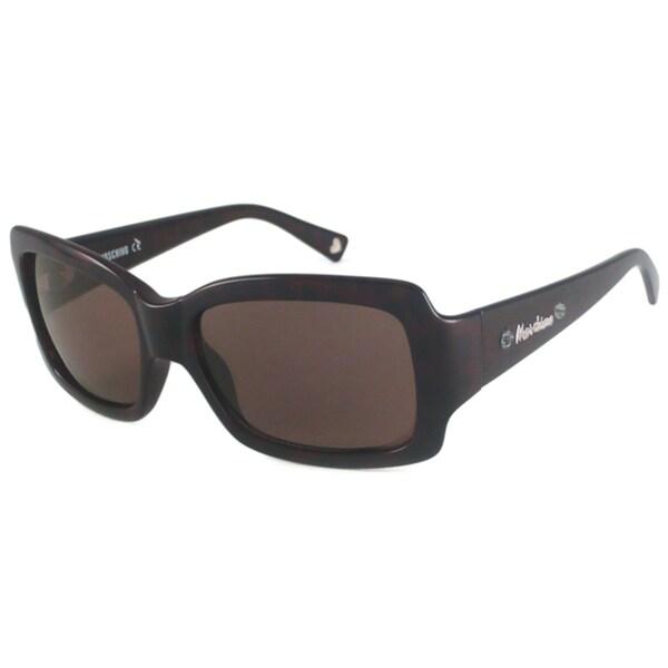 Moschino Women's MO523 Rectangular Sunglasses