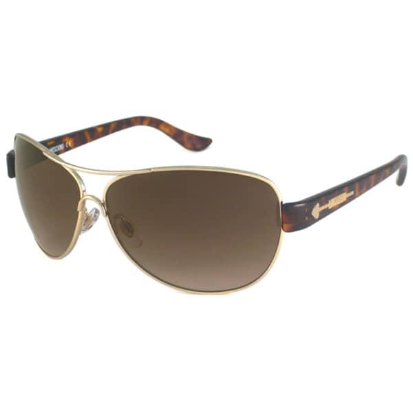 Moschino Women's MO594 Aviator Sunglasses