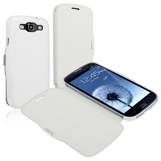 INSTEN Leather Case Cover with Magnetic Flap for Samsung Galaxy S III i9300