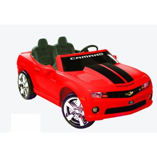 Kid Motorz Red Two-seater 12V Chevrolet Racing Camaro