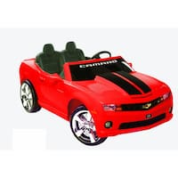 Kid Motorz Red Two-seater 12V Chevrolet Racing Camaro