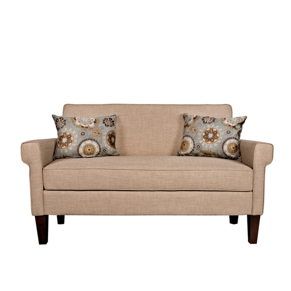 angelo:HOME Ennis Sandstone Khaki Brown Twill Sofa