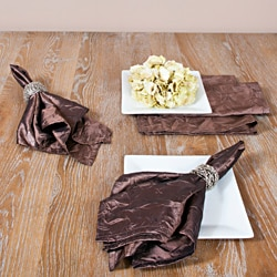 Crushed Mocha Napkins (Set of 4)