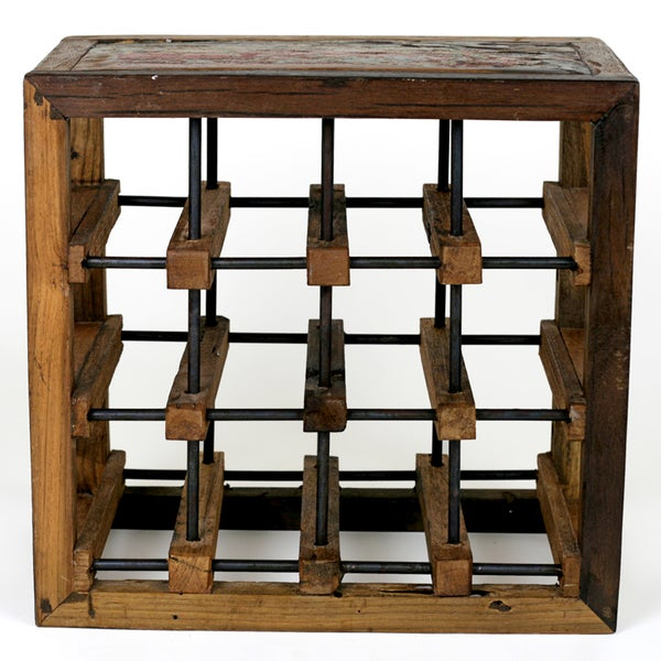 Ecologica Furniture 12-Bottles Wine Rack