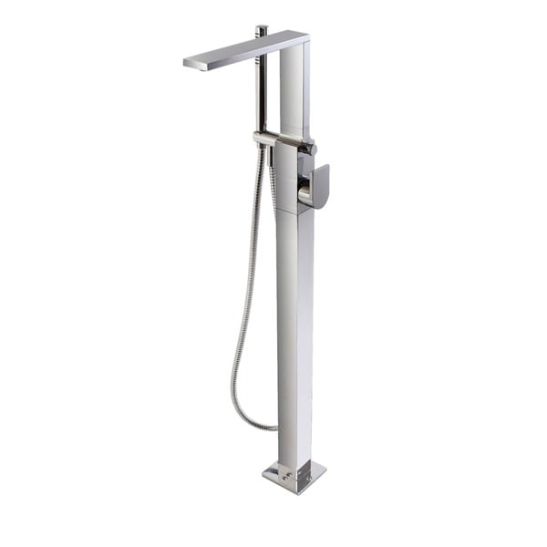 aquatica b700cp metro floor mounted tub filler faucet