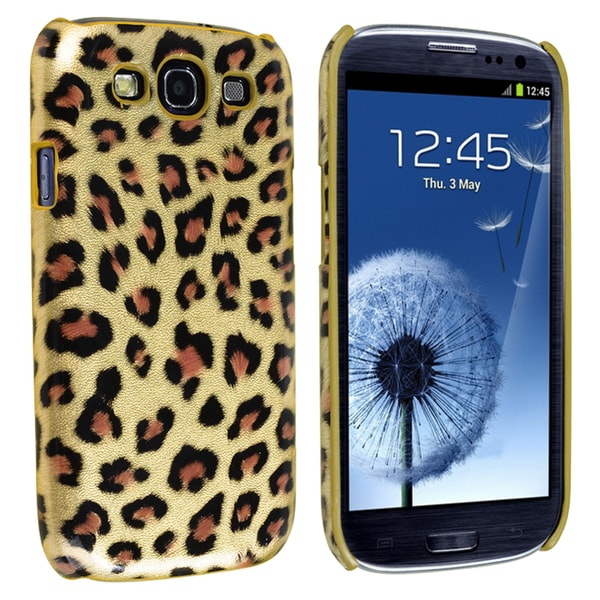 INSTEN Leopard Rear Phone Case Cover for Samsung Galaxy S III/ S3 i9300