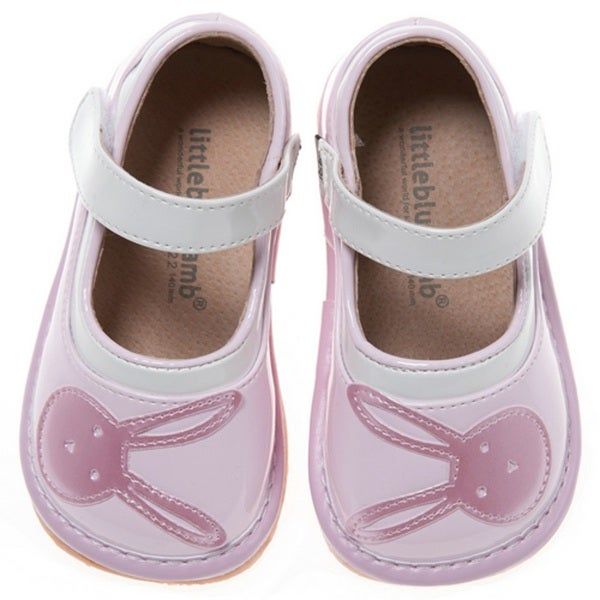 Little Blue Lamb Pink Toddler Squeaky Shoes