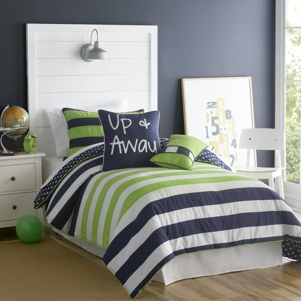 VCNY Big Believers Up and Away 3-piece Comforter Set